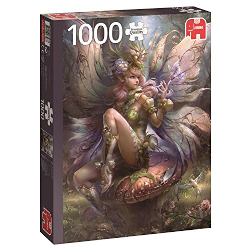 Jumbo- Enchanting PCS Incantevole Fairy Puzzle 1000 Pezzi, Multicolore, 18598