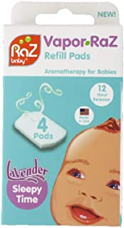 Vapor-RaZ Refill Pads/Lavender/Soothing Aromatherapy for Calming and Relaxing Your Baby Naturally / 4 Pack