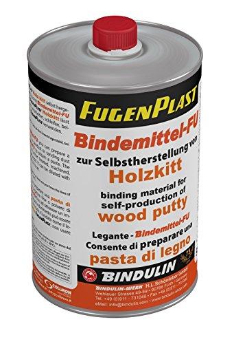 Bindemittel FU zur Selbstherstellung von Fugenplast Holzkitt (900g = 1046ml Flasche)