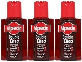 Alpecin Double Effect Shampoo 200ml (Pack of 3