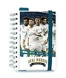 Grupo Erik Editores Real Madrid- Agenda escolar 2018-2019 día página multilingüe, 11.4 x 16 cm