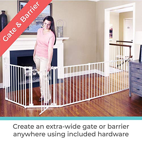 51FaXzFCDjL 8 of the Best Walk Through Baby Gates for 2021 (Review)