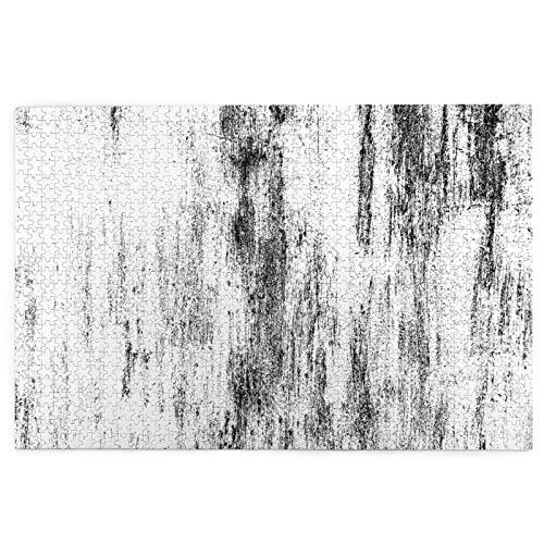 Rompecabezas de 1000 Piezas,Rompecabezas de imágenes,Imagen de textura monocromática de fondo abstracto incluye,Juguetes puzzle for Adultos niños Interesante Juego Juguete Decoración Para El Hogar