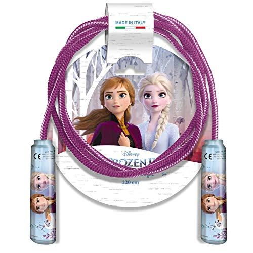 Mondo Toys 09144 Skipping Rope II Corde à sauter pour enfant avec poignées en plastique léger et résistant Bleu clair/violet