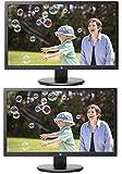 HP 24uh 24' Full HD LED Backlit LCD Monitor 2-Pack