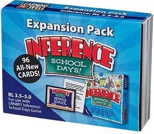 tomamos a los clientes como nuestro dios Edupress Edupress Edupress Expansion Pack  Inference - School Days  (W-LRN8026) by Edupress  Tienda de moda y compras online.