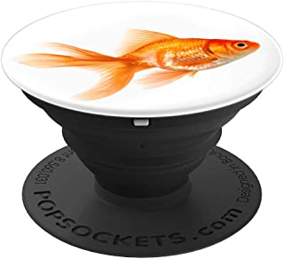 Goldfish Bowl Fish Tank Koi Pond Fantail Goldfish - PopSockets Grip and Stand for Phones and Tablets