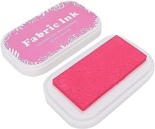 Atyhao Tampons pour encre, tampons encreurs colorés pour tissu en bois, scrapbooking pour tampons en caoutchouc (rose)
