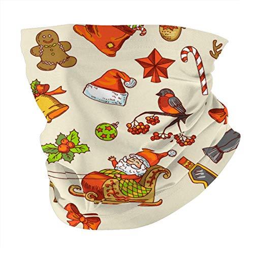 Good things mall Feiertage lustige Bilder Schal Bandanas Hals Gamasche Mehrzweck Sturmhaube Kopfbedeckung für Outdoor-Sportarten
