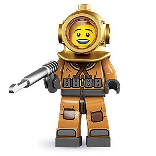 LEGO Diver 8833 Series 8 Minifigure