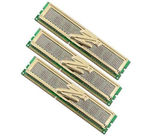 OCZ OCZ3G1333LV6GK PC1333 Arbeitspeicher 6 GB DDR3 RAM Triple Channel Kit, CL9, 3 x 2 GB