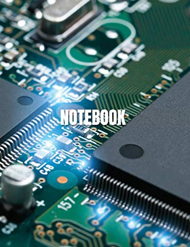 Notebook: CPU cover (8.5 x 11) inches 110 pages, Blank Unlined Paper for Sketching, Drawing , Whiting , Journaling & Doodling (CPU notebook,, Band 33)