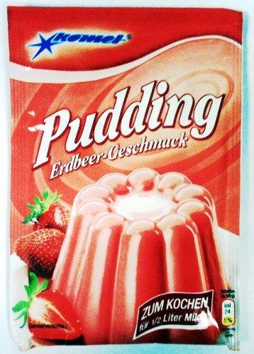 Gerolf Pöhle & Co. GmbH Komet Puddingpulver Erdbeer Geschmack 40g