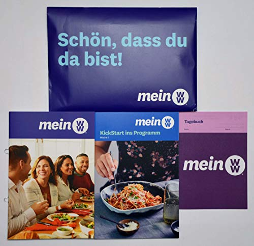 Weight Watchers - Starter Set mein WW + Kickstart ins Programm Woche 1 + Tagebuch FitPoints® / SmartPoints® Plan / 2020