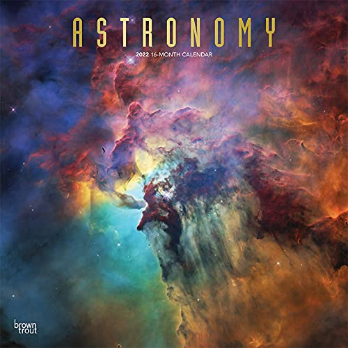 Astronomy 2022 12 x 12 Inch Monthly Square Wall Calendar with Foil Stamped Cover, Universe Space Nasa Hubble Telescope