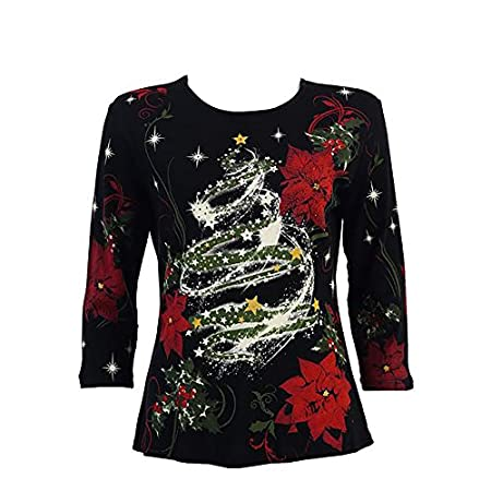 432a90bd30 Elegant Christmas Sweaters for Women - Festive Holiday Dressy Tops ...