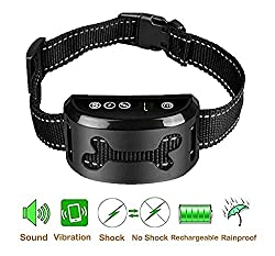 PEDLZ No Bark Collar for Small, Medium, Large Dogs