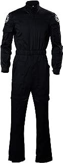 Cosplaysky Men's Halloween Cosplay Black Jumpsuit for Jedi Costume