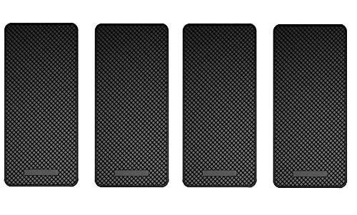 Ganvol (4 Pack Anti-Slip Car Dash Sticky Pad (14 x 7 cm), Heat Resistant...