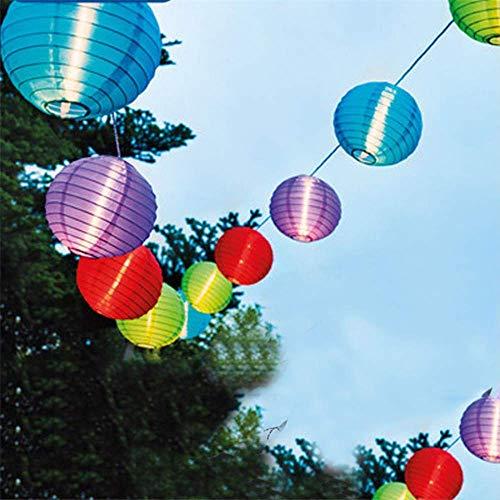 Bola De Linterna Al Aire Libre Solar Led String Fairy Light Patio Party Wedding Solar Globe Guirnalda Fairy Light 6M 30Led Multicolor