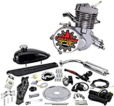 Zeda 80 Complete 2 Stroke 80cc Bicycle Engine Kit - Triple 40 Motorized Gas Bike - Firestorm Edition
