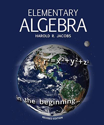 Compare Textbook Prices for Elementary Algebra  ISBN 9781683442554 by Harold R. Jacobs