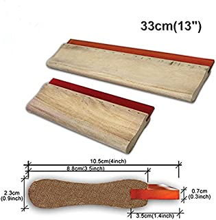 33cm(13inches) Water Based Silk Wooden Handle Screen Squeegee 65 Durometer