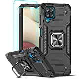 LeYi for Samsung Galaxy A12/M12 Case and Tempered Glass