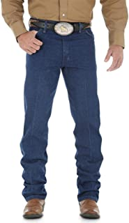 Wrangler Men's Cowboy Cut Original Fit Jean, Rigid Indigo, 34W x 32L