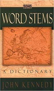 Word Stems: A Dictionary