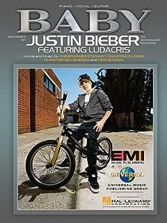 Justin Bieber 'Baby' (Piano Vocal Guitar, Sheet Music)