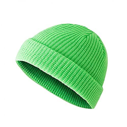 Yue668 - Sombrero de punto con puntiagudo mágico para invierno con gorro de punto cálido para mujeres y hombres