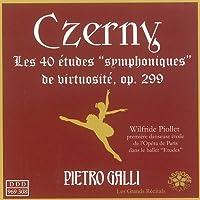 Czerny: 40 etudes Symphoniques de virtuosite