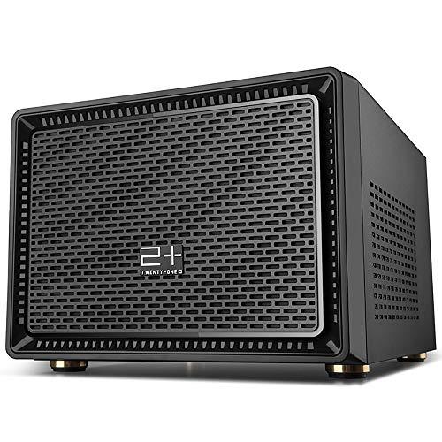 GOLDEN FIELD N-1 Micro ATX/Mini ITX Mid-Torre Mini Caja de la Computadora Negro Mini Serie