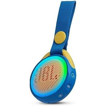 JBL JR Pop - Altavoz Bluetooth portátil Impermeable diseñado para niños - Azul, JBLJRPOPBLUAM