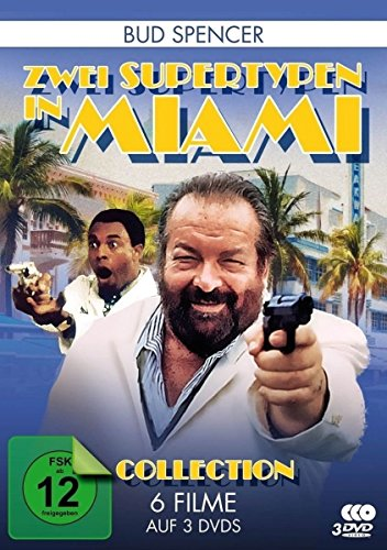 Bud Spencer Collection: Zwei Supertypen in Miami - Die komplette zweite Staffel (6 Filme) (3 DVDs)