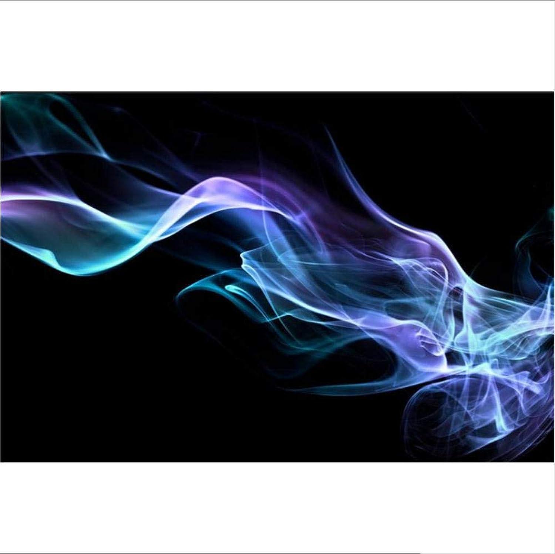 Compra calidad 100% autentica Lyqyzw Sala 3D Papel Tapiz Mural No Tejido Etiqueta Etiqueta Etiqueta De La Parojo Blaze Azul Flor Foto Sofá Tv Fondo Pintura Fondo De Pantalla 200X140Cm  venta al por mayor barato