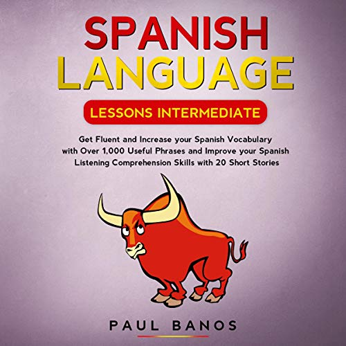 Spanish Language Lessons Intermediate cover art
