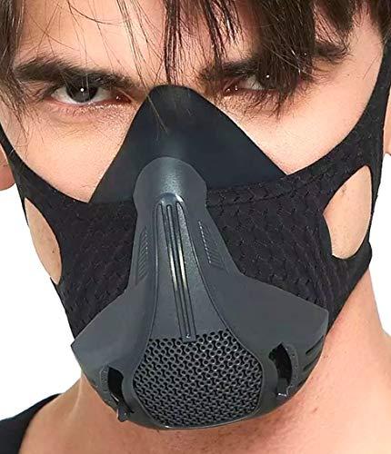 【トレーニング効率アップ】低酸素トレーニング用マスク 25段階レベル調整