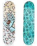 Santa Cruz Skateboards Floral Decay Skateboard-Brett / Deck, 21...