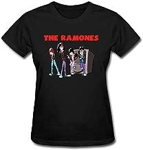 SAMJOS Women's The Ramones Cartoon T-Shirt