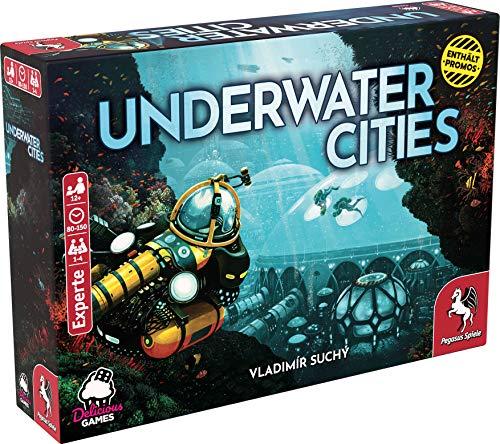 Pegasus Spiele 51905G - Underwater Cities (deutsche Ausgabe) *Empfohlen Kennerspiel 2020*