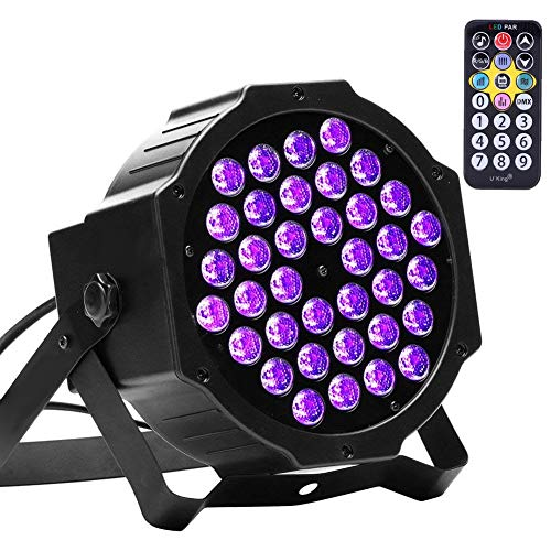 U`King 72W Black Lights UV LED Black Light Glow Effect review