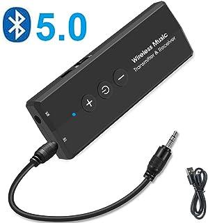 comprar comparacion EasyULT Transmisor Receptor Bluetooth 5.0, Inalámbrico Adaptador Portátil Bluetooth 3-en-1 con 3.5mm Audio Cable, para PC/...