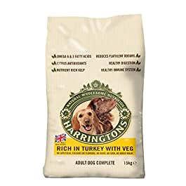 Harringtons Complete Adult Dog – Rich in Turkey with Veg (15kg)