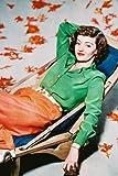 Poster Bette Davis, 60 x 91 cm, Grün