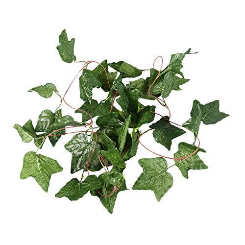 LilyJudy Guirnalda artificial para plantas de hiedra artificial de imitación de 7.87 pies