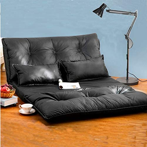 Best Fabric Floor Couch Lounge with 5 Adjustable Reclining Position, Foldable Japanese Floor Futon, Tatam