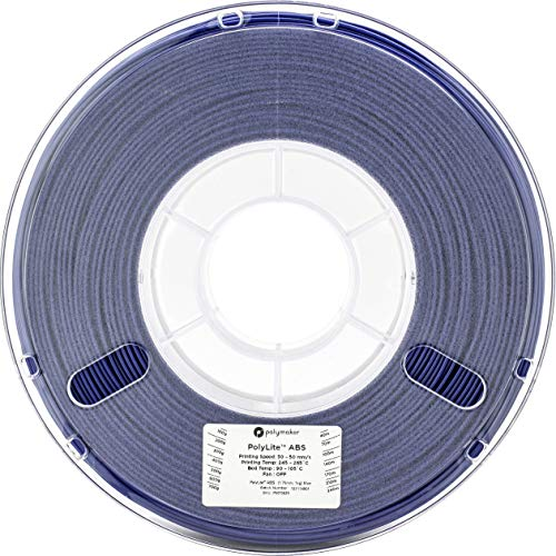 3Dプリンタ―用フィラメント PolyLite ABS 1.75mm径 1kg巻 (ブルー)
