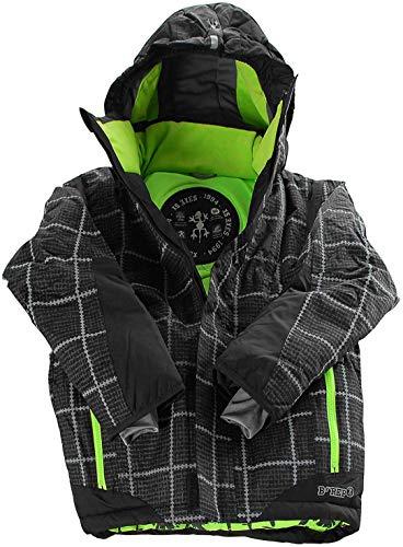 XS EXES Winterjacke / Skijacke für Jungs 354313 in schwarz (999 black), Kleidergröße:128;Farbe:Schwarz (999 Jet Black)
